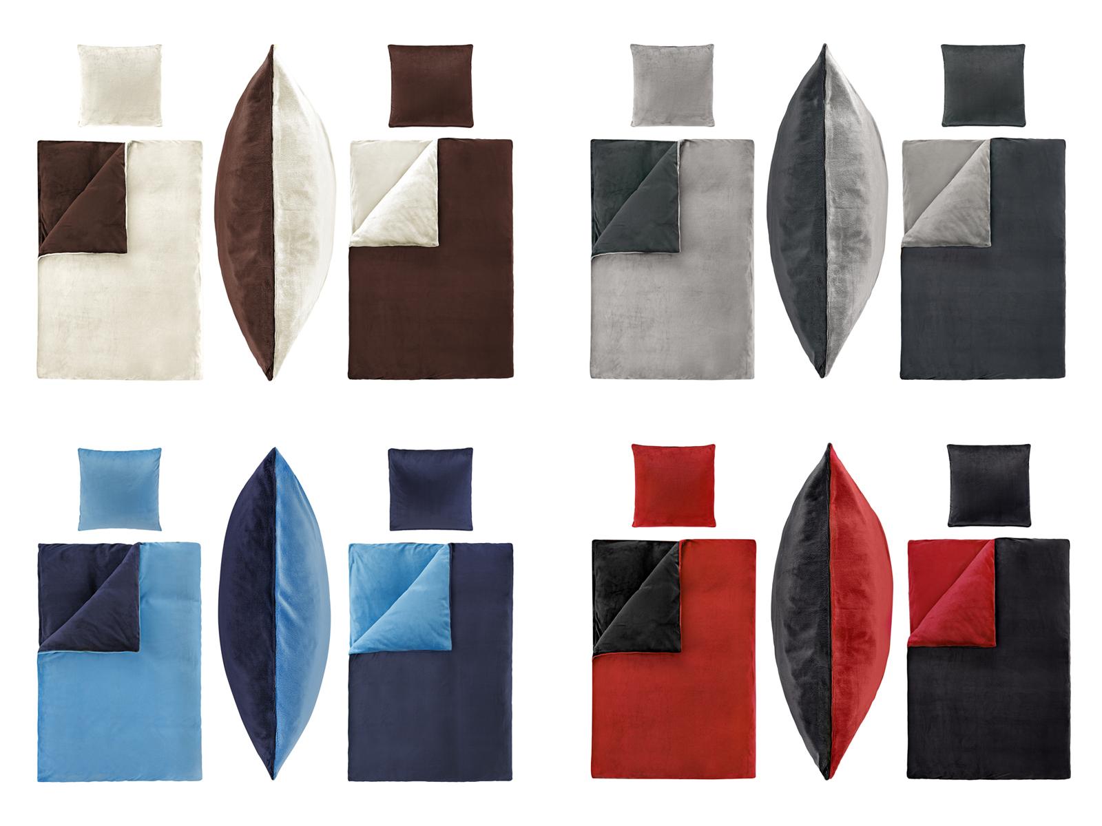uni wende bettw sche nicky teddy cashmere touch pl sch. Black Bedroom Furniture Sets. Home Design Ideas
